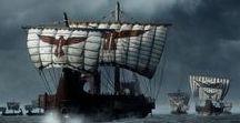 S.P.Q.R. - FLEET / Ships of roman naval forces.