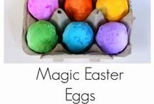 Holiday Activities (April-June) / Focused on preschoolers. Includes ideas for April Fool's Day,Easter, Earth Day, Mother's Day, and Father's Day.