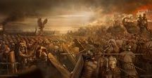 S.P.Q.R. - BATTLES / Illustrations and reconstructions of different battles between Rome and her enemies.