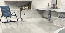 White Experience / Beautiful and versatile White Experience Porcelain Tile by Eleganza at Tango Tile.