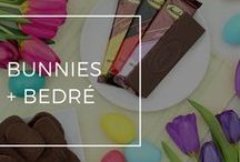 Bunnies + Bedré / The Easter Bunny is coming and they're brining Bedré Fine Chocolate.