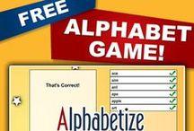 Freebies / #free #educationalgames #literacy #k12 #wordstudy #phonics #writing #vocabulary #spelling