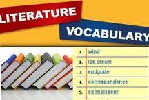 Literature Favorites / #k12 #literature #vocabulary
