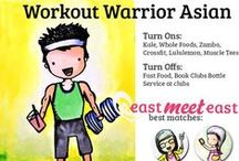 "Workout Warrior Asian / You live at the gym or studio, and survive on green juice, protein powder and grilled chicken.  You've been known to go for a long run after a Bikram yoga class because you ""still need some cardio.""  You've signed up for every marathon, color run, Tough Mudder and triathlon within a 200 mile radius of your apartment.  Meet your fit Asian match at EastMeetEast: http://goo.gl/wmjjrO"