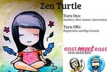 Zen Turtle Asian / Your idea of a good time is spending a quiet day at home watching Jeremy Lin basketball videos, Korean Dramas, or playing Candy Crush Soda Edition. You prefer a low-key weekend, getting brunch and relaxing. Anyone who comes into your zone becomes instantly more relaxed.   Turn-Ons: Intellect, New Games, Innovation Turn-Offs: Nightclubs, Networking and Crowds  Want to meet all types of Asian singles near you? Go to http://goo.gl/wmjjrO