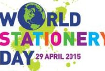 World Stationery Day / The first ever World Stationery Day was celebrated on 29th April 2015. Everyone - everywhere - welcome to join in!