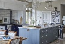 'Bathe in blue' blue kitchen ideas / Beautiful blue ideas for the kitchen