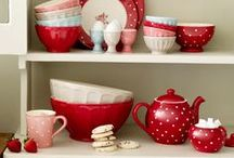 'Red hot heaven' red kitchen ideas