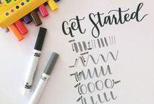 Hand Lettering + Inspo