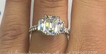 Emerald Elegance / Emerald Cut Engagement Rings By Forever Diamonds NY