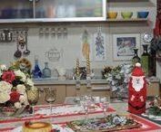 Natal em Festa / É o clima de festa que inspira e dá vida  as nossa decoração natalina  para o projeto Mesas de Natal Arte & Cozinha-Heda Seffrin.  Carinho, criatividade e requinte é uma forma de brindar as festas de fim de ano. Inspire-se!