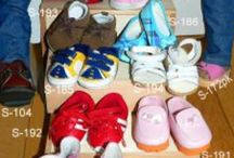 """Doll Shoes / Doll Shoes, Sneakers, Socks & Footwear for 18"""" Play Dolls like our own 18"""" Sew *Able* Dolls and the American Girl Dolls.  Shows Shoes, Boots, Sports, Socks & More!"""