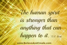 Handling Difficult Times  / by Believe and Create