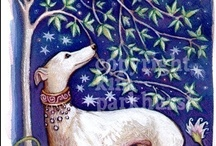 Greyhound Art / Beautiful dogs depicted a million ways... / by Greyhound Greetings