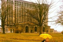 USA - Detroit Train Station / MY FAVORITE BUILDING...