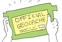 Geocaching! (What happens when nerds enter the wild) / by Sarah Halasz