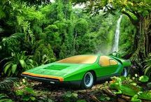 Car - Alfa Romeo CARABO by Bertone 1968 Concept / One of the best concepts ever, a jewel in wheels