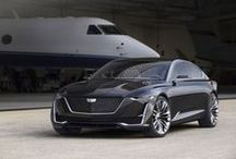 Car - Cadillac Concepts / Concept cars from Cadillac, always very trendy