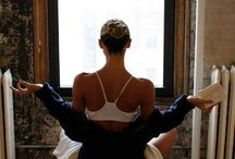 "yogi girl / ""Natarajasana"" / by Mimi Postigo"