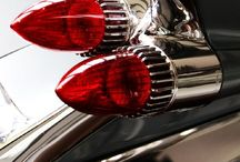Car - Tail Fins & Stop Lights / From the years of Car Tails...