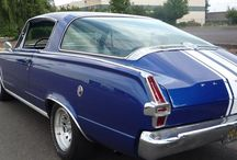 Car - Plymouth / Including Barracuda, a design that impacted the world with its huge back window...