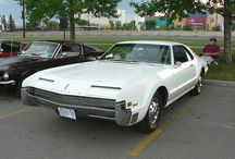 Car - Oldsmobile / they were very trendy with unique shapes like the Toronado