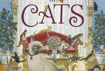 CATS / Some of my cat paintings from A CASTLE FULL OF CATS. (Random House Jan, 2015)