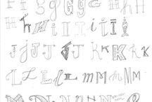 Hand lettering | easy to draw