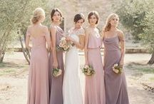 Bridesmaids / Bridesmaids dresses, gift ideas
