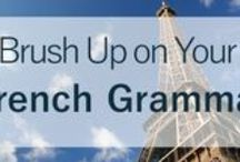 Learn French | Language Learning Resources / All about French! Here's a collection of online resources to improve your French language skills.  French vocabulary, French expressions, French phrases, French grammar, verbs, adjectives, prepositions, pronunciation, idioms, slang, activities, printables, infographics