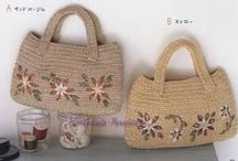 Crochet bags / Stylish crochet bags