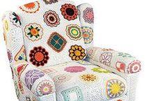 Crochet home decoration