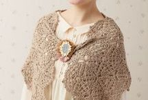 Looks: Soft and Delicate / Crochet, Sewing, Knitting