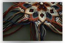 macrame / macrame knotting