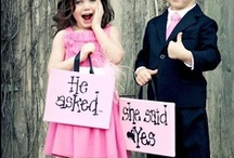 Wedding | kids / Wedding planning board for weddings with kids, babies, toddlers as guests. Let them have fun too!