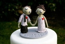Wedding | crazy caketoppers / A collection of crazy, fun and stylish cake toppers to customize your wedding!