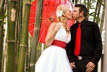 wedmood | rockabilly wedding / Wedding planning mood board for rockabilly themed wedding. Back to the the 50's!
