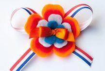 """koningsdag / Knutsels voor Koningsdag zelf de mooiste """"oranje"""" spulletjes!"""