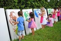 kinderfeestjes / Leuke knutselideeën om een kinderfeestje te laten slagen!