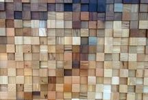 Knock on wood / furniture and interior design primarily made of wood.
