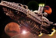 Battlefleet Gothic Models