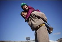Mongolia, March 2013 / Mongolia held its first-ever measles and rubella vaccination campaign in October 2012. The campaign reached 508,826 children aged 3–14, representing 95.5 per cent of children in that age group. Health workers made a special effort to reach children of nomadic herder families who represent almost 1 in 4 children in the country.
