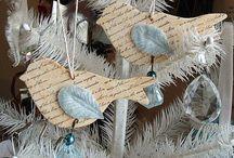 wintertijd en kerstsfeer / Maak zelf de mooiste decoraties voor in huis! Alles in een kerst of winter thema!