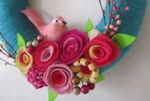 Voorjaar en lente kriebels / Mooie decoraties en cadeautjes in frisse kleurtjes...
