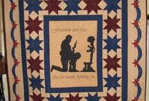 A Quilt of Valor - Patriotic Quilts / Patriotic,  &  Red, White, & Blue Quilts - QOV's / by Francine Epstein
