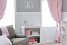 Baby room / My daughters baby girls room to redecorate