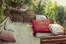 Garden Ideas / Ideas and inspiration for creating a beautiful garden / outdoor space