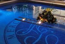 Hotel Paseo Las Mercedes / Decoración de los espacios abiertos del Hotel Paseo Las Mercedes.