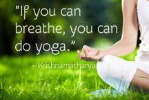 be a yogi...?