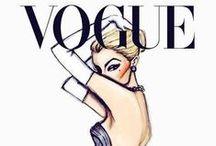 Fashion illustration / Dress. Moda. Illustration.